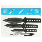 throwing knife set