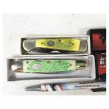 2pc Steel Warriors folding knives