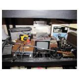 Approx 18 pcs vintage elctronics, cameras,