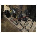 8 pcs metal craft & heavy Scottish Terrier,