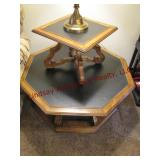 """Octagon 40"""" Coffee table & end table 20x20"""