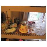 18 pcs mixed glassware