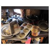 6 pc skillet set, T-fal pot/pan set w/ lids,