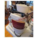 Wards electric food mixer w/ bowls & juicer