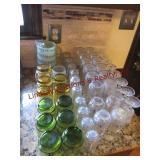 48 pcs mixed glasses
