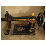 Antique Singer sewing machine head serial #N383214