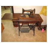 Antique Singer sewing machine serial #G0069057