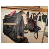 Group of 8 travel bags