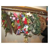 Group of wreaths