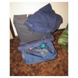 4 pc luggage set (navy)
