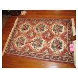 Decorative entry rug 69x46