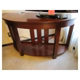 Entry/Sofa/TV table (some scratches) 50x16x29.5