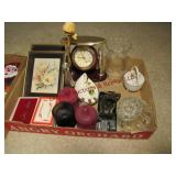 3 flats w/ religious items & other