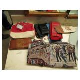 Group of wallets & 1 bag