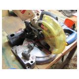 Ryobi 18v cordless miter saw w/ charger (works)