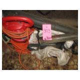 Toro electric blower/vac w/ ext cord & bag