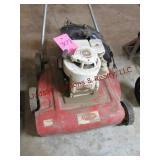 Vintage Briggs Startton mower (untested)