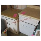 2 pcs cabinets 27x17x31 & 23x25.5x36