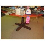 "60"" round pedestal table"