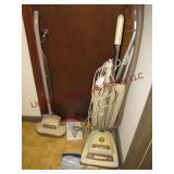Eureka & Hoover vac & floor scrubber