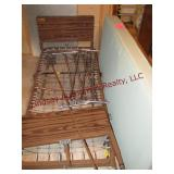 Adj medical bed w/ rails & mattress
