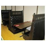2 booth sections w/ tabls 29.5x48 (5 pcs)