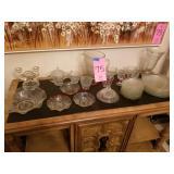 34 pcs matching glassware