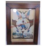 13x17 framed print of General Z. Taylor