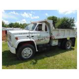1987 Chevy C65 S.A. Dump Truck: V8 gas, ...