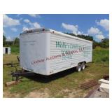 1993 Timberwolf 20ft Enclosed T.A. trailer, ...