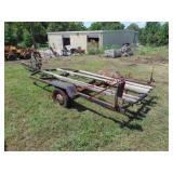 Shoreline S.A. 14ft boat trailer (needs tire)