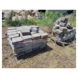 2 Pallets of approx 190 blocks total
