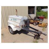 Worthington Corp. portable rotary air compressor..
