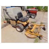 "Walker zero turn 48"" front mount mower, ..."