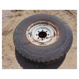 8 hole whl w/ Goodyear workhorse tire LT235/85R16