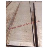 """Aluminum ramp 25.5"""" wide x 119"""" long (uhaul ramp)"""
