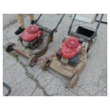 2 - Honda push mowers: GCV160 mod: HRR2169UKA