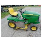 John Deere 325 riding mower 17 hp QHV electronic