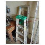 3 - alum step ladders 4 ft, 5 ft & 6 ft (2 Werner)