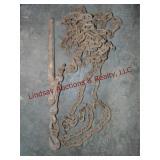 Chain w/ 1 hook & snap load binder