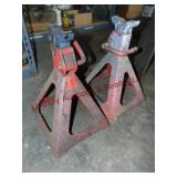 Pair HD jack stands