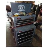 Craftsman 10 drawer double stack ball bearing tool