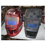 2) Chicago Electric auto darkening welding helmets