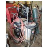 Simpson water shotgun elec steam cleaner w/ hose &