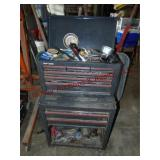 Craftsman 9 drawer double stack tool box (WITH