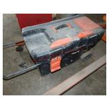 Rolling tool box w/ contents: misc tools (see