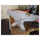 "55 lb China anvil 15"" long x 3 3/4"" wide"