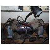 """Craftsman 8"""" 1 hp bench grinder (works)"""