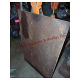 Pc of flat metal 31x46