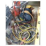 Group w/ ext cords, 3 - sets of jump cables (may